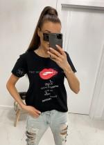 T-shirty z printem by Top Moda Collection. Uniwersalne bluzki w modnych fasonach